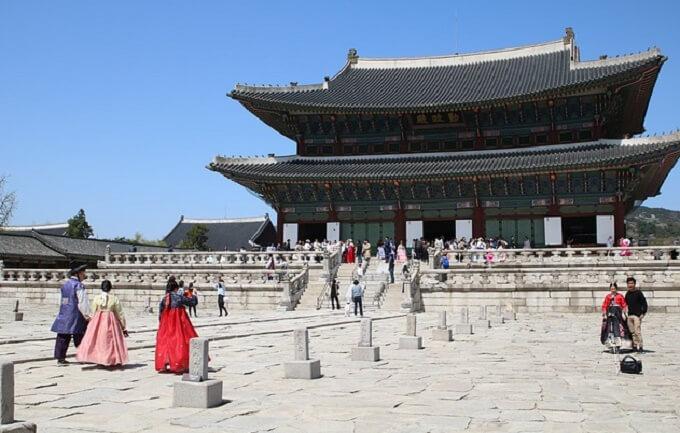 韓国の王宮