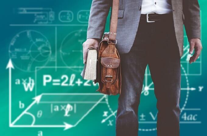 数式と男性